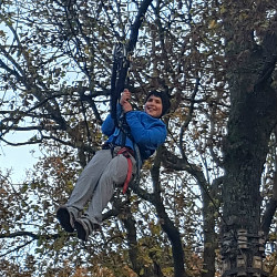 Boarders go Tree Running