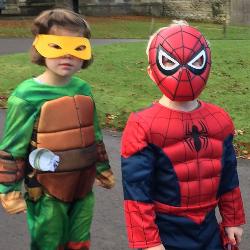 Superhero dress up day