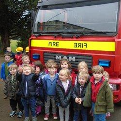 Emergency Services visit to Hatherop Castle