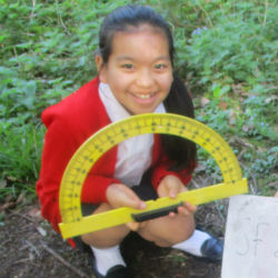 The Prep 7's use our outdoor classroom for an exciting Maths lesson!