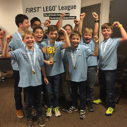 Lego Robotics team wins regionals for second successive year