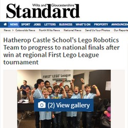 Team HCS in the local news