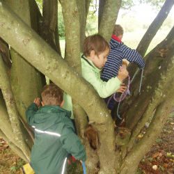 Half-Term Outdoor Learning with Nursery!