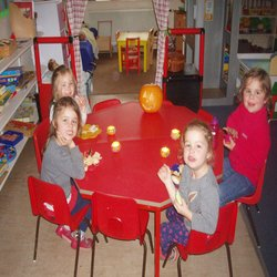 Spooky adventures at Hatherop Castle Nursery!