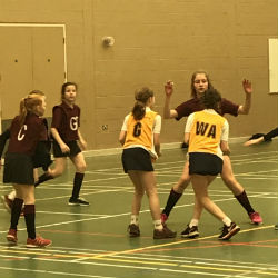 Netball practice sessions with Pam Cookey – Former England Captain