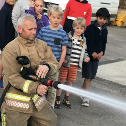 Future Firefighters in Training