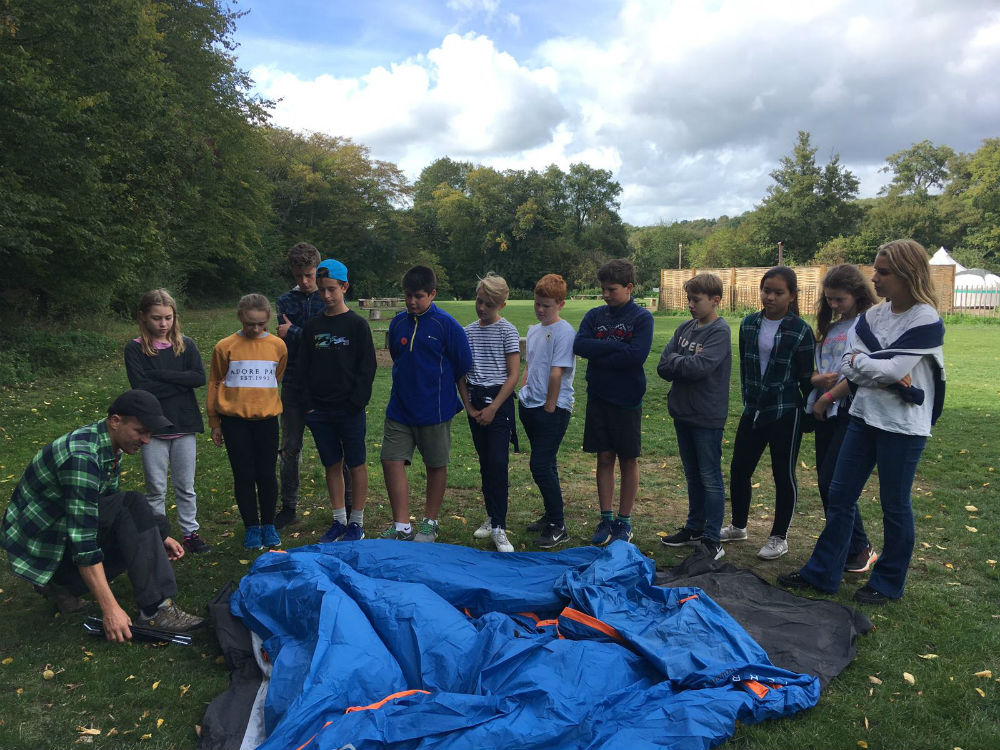 Prep 8 Team Building Camp! - Hatherop Castle Prep School and