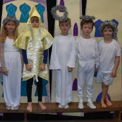 'A Little Bird Told Me' that Prep 1 and 2 were having a nativity